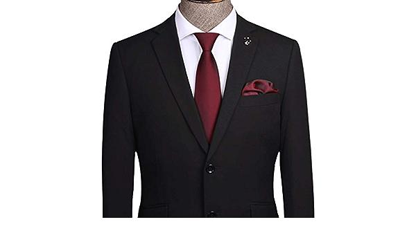 YXN Corbatas de Rayas/Color sólido/Corbata para Hombre/Lazy ...