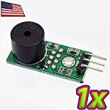 UPGRADE INDUSTRIES Loud Active Piezo Buzzer Sound Audio Beep Alarm Driver Module for Arduino by UPGRADE INDUSTRIES