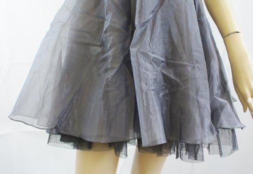 Grey Silver Einfarbig Silber Kleid LipsyDamen nWxgwvYaB