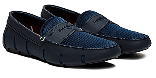 Swims Mens Penny Loafer (9.5 D(M) US, Navy) by SWIMS