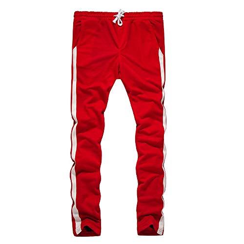 Running Sport Sports Hiver Atomne De Jogging Mode Rouge Pantalons Rayure Casual Survêtement Loisirs Homme Baggy Fitness Electri zpZtExwqZ