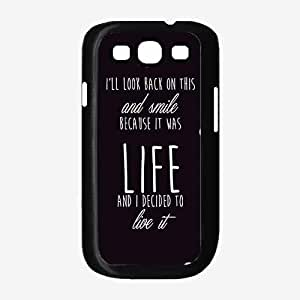 I'll Look Back On This and Smile- TPU RUBBER SILICONE Phone Case Back Cover Samsung Galaxy S3 I9300