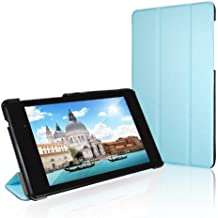 Nexus 7 Case, JETech Slim-Fit Case Cover for Google Nexus 7 2013 Tablet w/Stand and Auto Sleep/Wake Function (Blue)