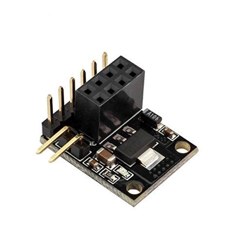 MYAMIA Robotdyn Socket Adapter pour Nrf24L01 avec 3.3 V Ré gulateur pour Arduino