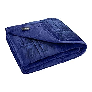 """Gut Health Shop 41DxK2B7fCL._SS300_ Ultra Plush Weighted Blanket -Great for Winter 