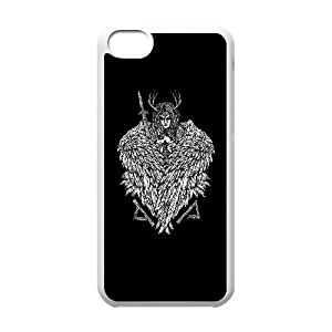 iPhone 5c Cell Phone Case White Valkyrie bgra