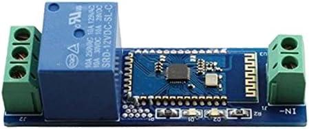 Módulo con Rele Interruptor Bluetooth Control Remoto 12V