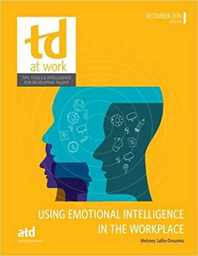 Buy Using Emotional Intelligence in the Workplace (TD at