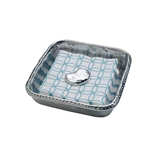 Wilton Armetale Napkin Box with Weight