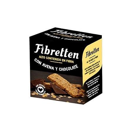 Fibretten Galletas Avena y Chocolate - 10 Paquetes de 246 gr ...