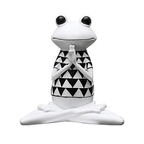 Amazon.com: ZAMTAC - Figura decorativa de rana de resina ...