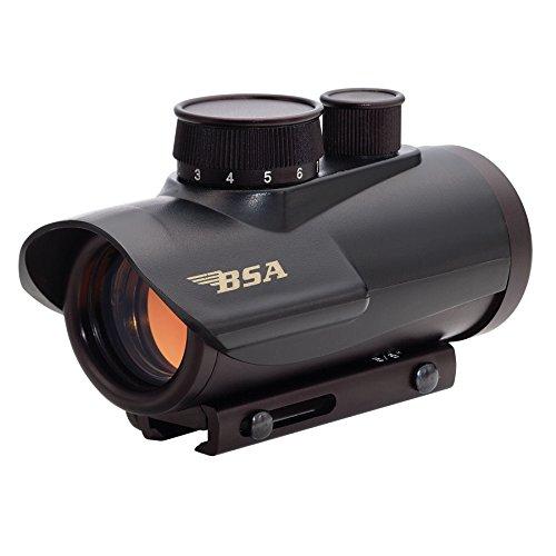 Petra Industries, Inc. - Consumer Electronics Replen BSA Optics 30mm Matte Black Finish Red Dot Sight Riflescope