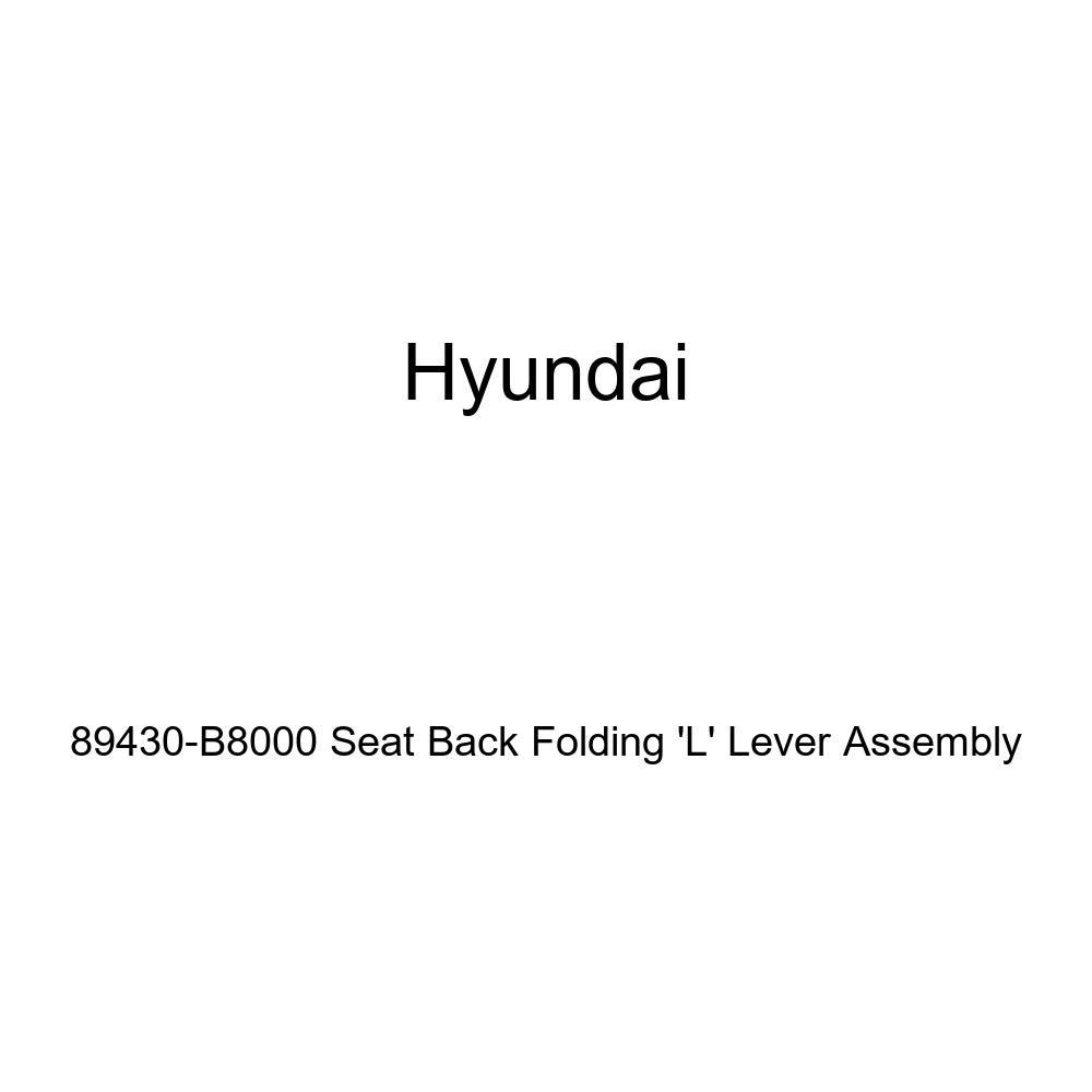 Genuine Hyundai 89430-B8000 Seat Back Folding L Lever Assembly
