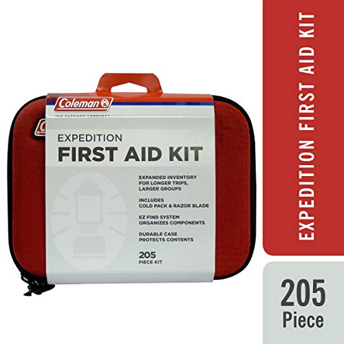 Coleman Camping All Purpose First Aid Essentials Kit for Emergencies