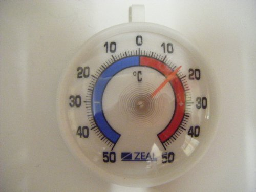 Genuine Zeal F0100 Window Hanging Greenhouse or Fridge Dial Thermometer