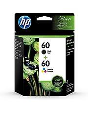 HP 60 Black & Tri-Colour Original Ink, 2 Cartridges (N9H63FN)