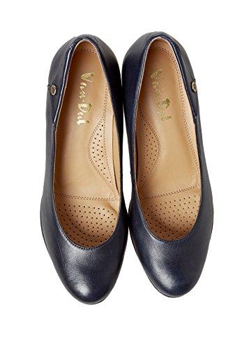 Van Dal - Zapatos de vestir de Piel para mujer azul azul marino