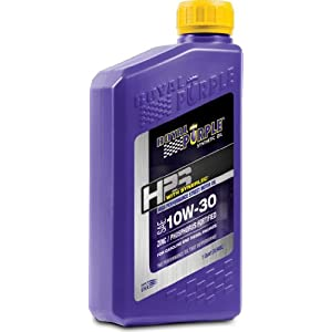 Royal Purple 36130-6PK HPS 10W-30 Synthetic Motor Oil with Synerlec Additive Technology - 1 qt. (Case of 6)