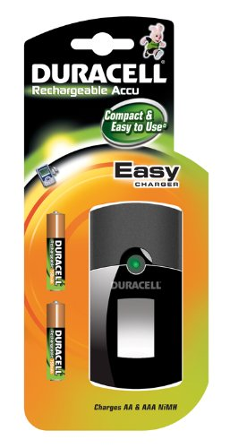 Duracell - Cargador (CEF 24 + 2xAAA, AA/AAA, 750 mAh, 229 x ...