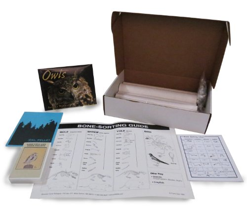 ETA Hand2Mind Barn Owl Pellet Classroom Lab