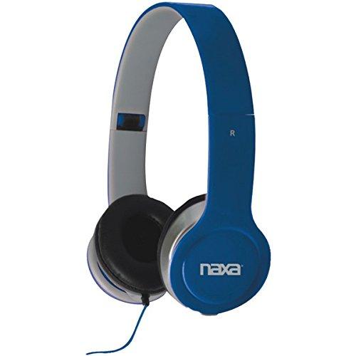 "Naxa Flash Headphones (Blue) ""Product Category: Headphones/Over The Head"""