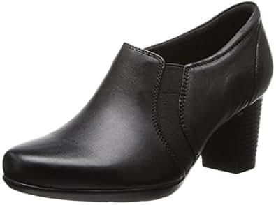 Amazon.com | CLARKS Women's Promise Holly, Black, 5 M US