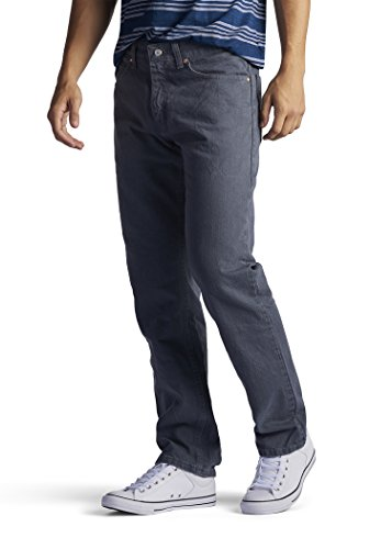 LEE Men's Regular Fit Straight Leg Jean, Thunder, 28W x ()
