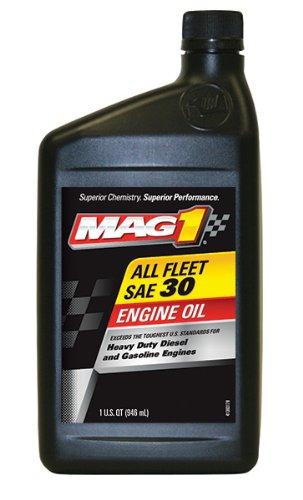 Mag 1 (61656-6PK) SAE 30 CF-2/SJ All Fleet Engine Oil - 1 Quart Bottle, (Pack of 6)
