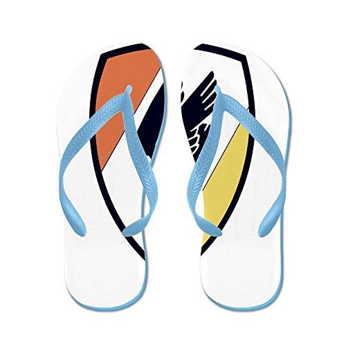 Cafepress Kg30.png - Flip Flops, Grappige String Sandalen, Strand Sandalen Caribbean Blue