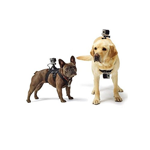 UpToYou Dog Camera Harness Mount Chest-Back Harness For GoPro Hero - Bird Dog Meter