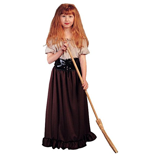 Peasant Girl Renaissance Kid's Costume (Size:Small 4-6) (Cummerbund Costume)