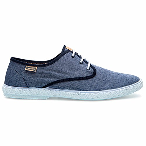 Maianas Zapato SISTO Rejilla Combinado (44 EU, Azul)