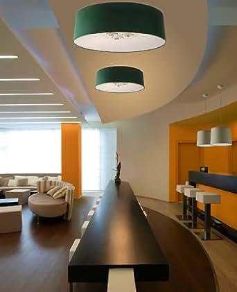 Amazon.com: Velvet ceiling lamp - VEL100 (medium) - maroon ...