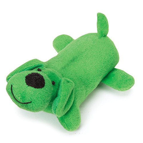 Zanies Lil' Yelper Dog Toys, Dark Green, 5