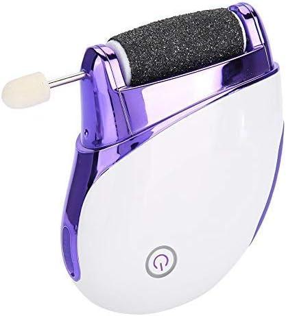 健康パーソナルケア電気USB充電足ファイルキューティクルリムーバー低ノイズ電気爪やすりマニキュアマシン5交換研削ヘッド
