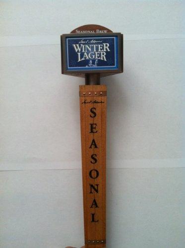 Sam Adams Seasonal Beer Tap Handle W/all Seasonal Cards