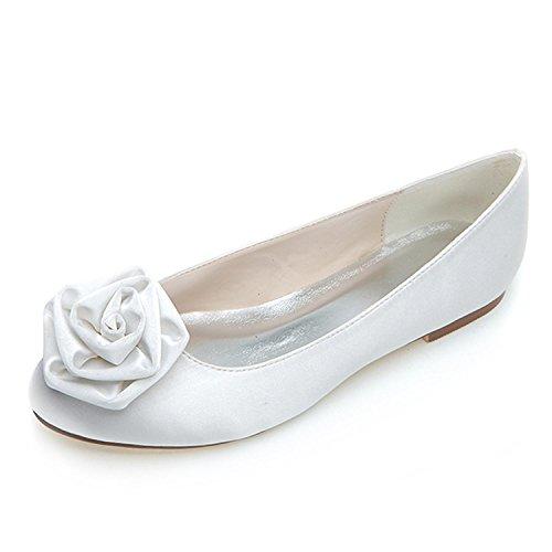 Chunky Formal Handmade Heels Women Wedding Shoes Elobaby Ballet RF658 High qT1xcg
