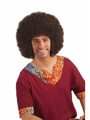 Forum Novelties Clown Jumbo Afro Wig in Brown -