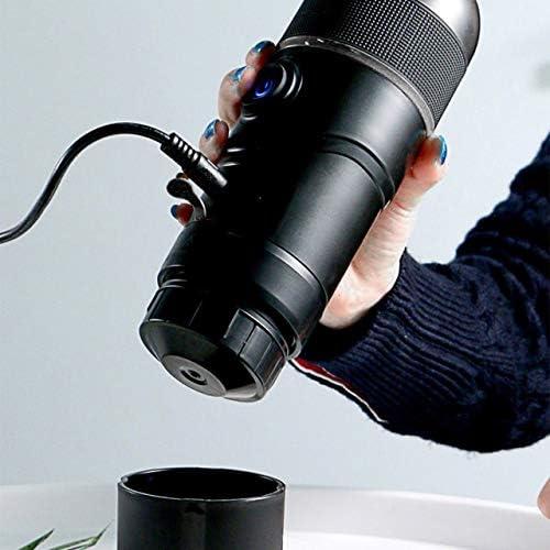 EmNarsissus Machine à café Portable pour Voiture, Machine à café à dosette USB, Machine à Expresso à Capsules 12v Machine Nespresso en Poudre