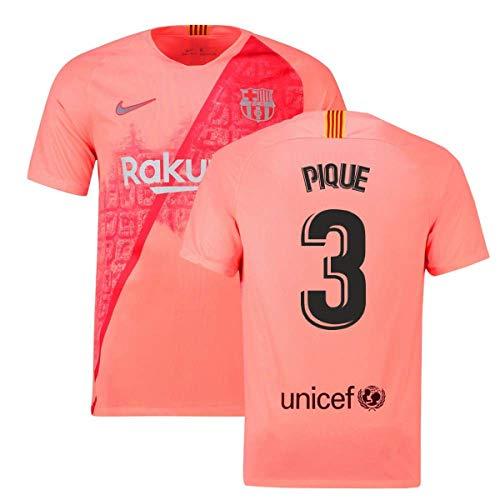 (2018-2019 Barcelona Third Nike Football Soccer T-Shirt Jersey (Gerard Pique 3))