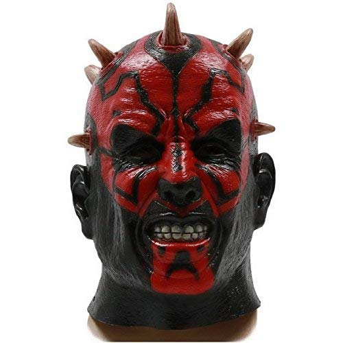 DylunSky Halloween Horror Mask Clown Scary Ghost King Latex Mask]()