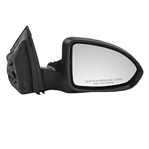 Passengers Power Side View Mirror Heated Ready-to-Paint Replacement for Chevrolet 19258660