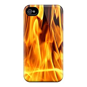 New Style Oilpaintingcase88 Hard Cases Covers For Iphone 6- Fire
