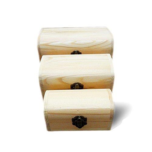 New Home Storage Box Natural Wooden With Lid Golden Lock Postcard Home Organizer Handmade Craft Jewelry Case Wedding Gift 2016