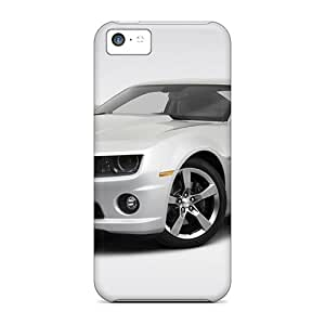 XkpYlNx-2371 Tpu Phone Case With Fashionable Look For Iphone 5c - 2010 Chevrolet Camaro 2ss