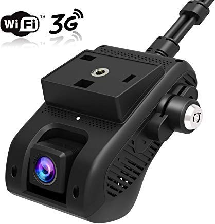 [APP REMOTELY Control] Dual Dash Cam Front and Cabin, JIMI JC200 Dash Camera for Cars 3G WiFi Car Camera 1080P FHD Infrared Night Vision Car DVR Driving Recorder with Professional GPS Tracking System Uncategorized