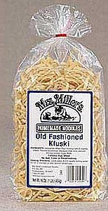 Mrs Miller Kluski Noodles, 16-Ounce Bags (Pack of 3)