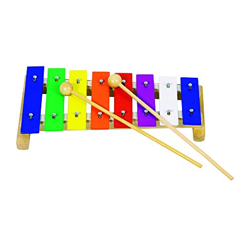 Goki Xylophone in Rainbow Colours by Goki
