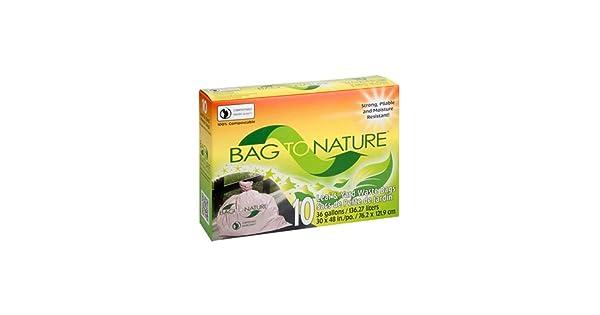 Amazon.com: Bolsa a la naturaleza Césped y Leaf Bolsas de ...