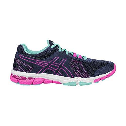 Cross TR Craze Gel Indigo Shoe ASICS Trainer Hot blue Indigo Women's Pink Blue 4 EqXtEpw